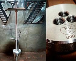 VZ Hookah: первый медный кальян