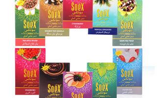 Безникотиновая смесь Soex — что это такое?