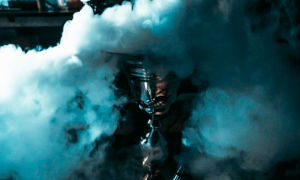 Как сделать дымный кальян?
