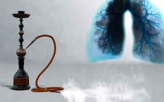 Как вредит кальян организму?