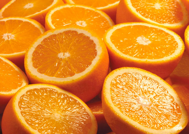 Как сделать чашу из апельсина